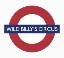 Wild Billys Circus Metro Underground Station by vintage-shirts