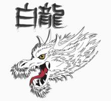 White Dragon by Antonio  Luppino