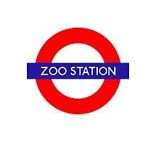 Zoo Station London Underground Photographic Print