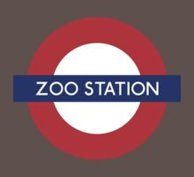 Zoo Station London Underground Kids Clothes