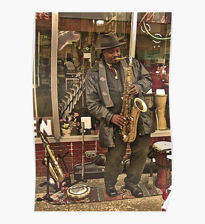 Horn Man Poster