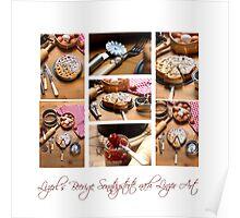 Linzer Cake Poster