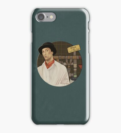 King of toilet paper rolls iPhone Case/Skin