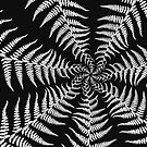 Fern Abstract by Edward Myers