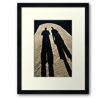Shady characters Framed Print