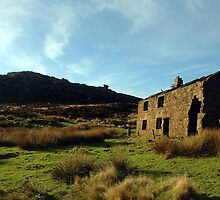 Old cottage at the Roaches by Kevin McNeill