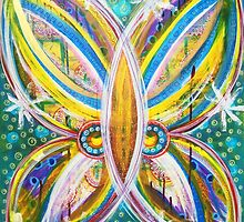 Details of Transformation: Inner Power Painting by mellierosetest
