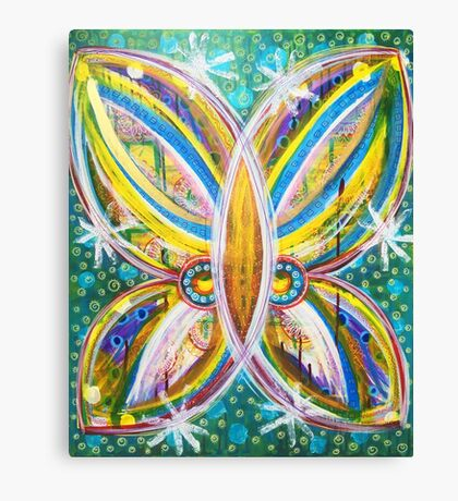 Details of Transformation: Inner Power Painting Canvas Print