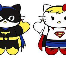 Hello Kitty, Hello DC by Tevokkia