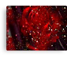 Rose Red. Canvas Print