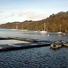 Boats on Rudyard Lake by Kevin McNeill