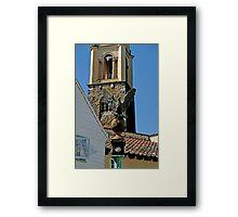 Stone Eagle & Campanile, Portmeirion Framed Print