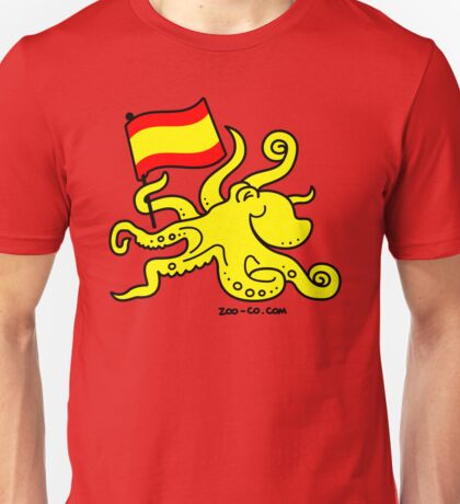 Paul the Octopus is Spanish! Unisex T-Shirt