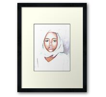 Nigerian girl Framed Print
