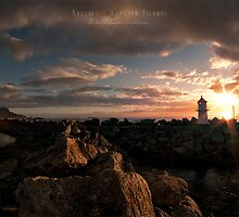 A day ends by Andreas Stridsberg