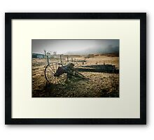 Rusted Out Framed Print