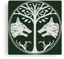 Sigil of the Iron Banner Canvas Print
