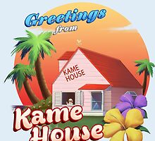 Greetings from Kame House by juanotron