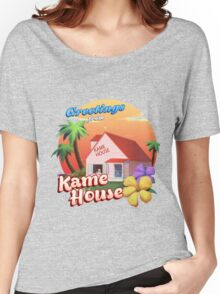 Greetings from Kame House Women's Relaxed Fit T-Shirt