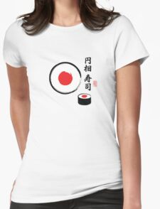 Sushi Enso Womens Fitted T-Shirt