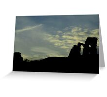 Mow Cop Greeting Card