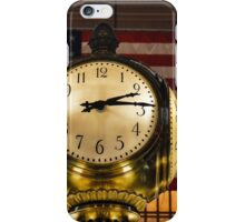 Clock Known Round the World iPhone Case/Skin