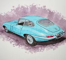 Jaguar E-Type by Cameron Porter