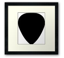 Plectrum Framed Print