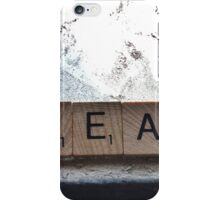 Dream On Scrabble Series #2 iPhone Case/Skin