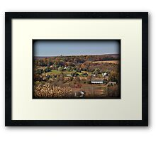 Moorestown Autumn Framed Print