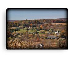 Moorestown Autumn Canvas Print
