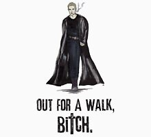 "Buffy The Vampire Slayer - Spike ""Out for a walk b#tch"" Unisex T-Shirt"