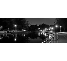 Canal at Night Photographic Print