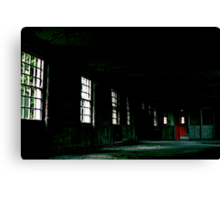 West Park - Red Door Canvas Print