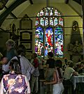 Church window in York by Ray Clarke