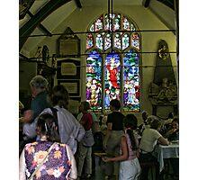 Church window in York Photographic Print