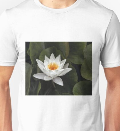 Water Lily and Pads Unisex T-Shirt