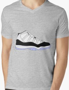 "Air Jordan XI (11) ""Concord"" Mens V-Neck T-Shirt"