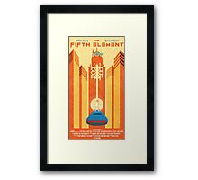 Fifth Element Poster Framed Print