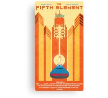 Fifth Element Poster Canvas Print