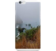 The fog comes on little cat feet ! iPhone Case/Skin