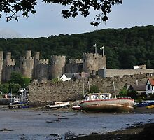 Castle Across The Bay by Andrew Cryer