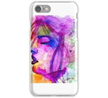 Psychedelic Face iPhone Case/Skin