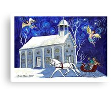 Lancaster Sleigh Ride Canvas Print