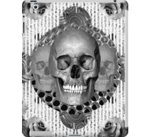 dark skull iPad Case/Skin