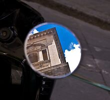 OBJECTS IN THE MIRROR ARE CLOSER THAN THEY APPEAR by SpencerCopping