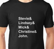 Fleetwood Mac Members Unisex T-Shirt