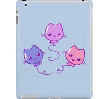 Kawaii Kitty Balloons iPad Case/Skin