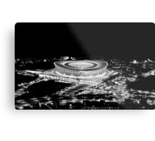 Stadium Alight Metal Print