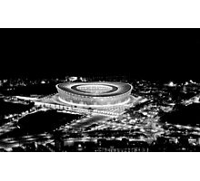 Stadium Alight Photographic Print